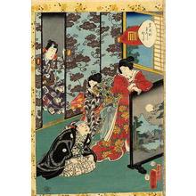 歌川国貞: Unknown title — 藤ばかま - Japanese Art Open Database