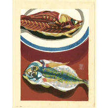 Mabuchi Toru: Dried Fish - Japanese Art Open Database