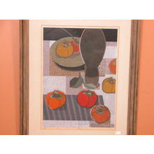 Mabuchi Toru: Persimmon - Japanese Art Open Database