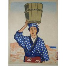 Maeda Masao: An Anko of Ooshima — 大島のアンコ - Japanese Art Open Database