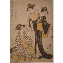 Masanobu Kitao: Unknown title - Japanese Art Open Database