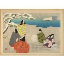 Masao Ebina: Asago- The Morning Glory — 朝顔 - Japanese Art Open Database