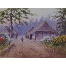 Matsu M: Garden by Village - Japanese Art Open Database