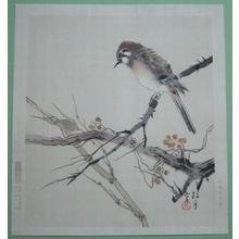 Matsubayashi Keigetsu: Sparrow — 雀 - Japanese Art Open Database