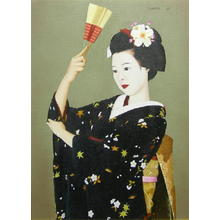 前田藤四郎: Maiko — 舞 - Japanese Art Open Database