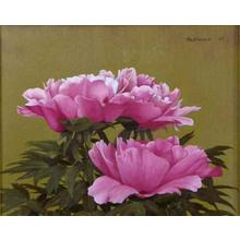 前田藤四郎: Peony — 牡丹 - Japanese Art Open Database