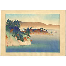 Matsuoka Eikyu: Lake Towada — 十和田湖 - Japanese Art Open Database