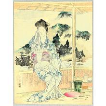 Mishima Shoso: Beauty at Resort - Japanese Art Open Database