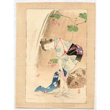 Mishima Shoso: Beauty near a Water - Japanese Art Open Database