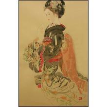 Miyamoto Saburo: Basket — 舞妓 - Japanese Art Open Database