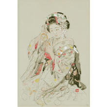 Miyamoto Saburo: Mirror - Japanese Art Open Database