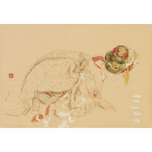 Miyamoto Saburo: New Years Week - Japanese Art Open Database