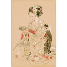 Miyamoto Saburo: Tea Ceremony — 御点前 - Japanese Art Open Database