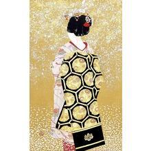 Miyamoto Shufu: Maiko (Light Snow) — 舞妓(小雪) - Japanese Art Open Database