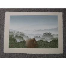 Miyamoto Shufu: Misty Mountains - Japanese Art Open Database