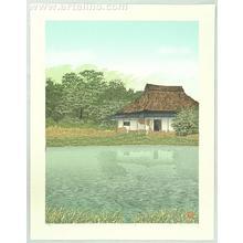 Miyamoto Shufu: Shadows on the Water - Japanese Art Open Database