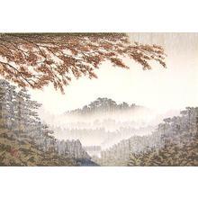 Miyamoto Shufu: Shower in late autumn — 時雨 - Japanese Art Open Database