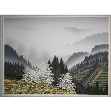 Miyamoto Shufu: Spring Wind — 春 風 - Japanese Art Open Database