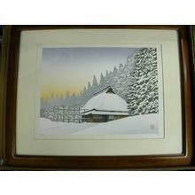 Miyamoto Shufu: White Residence — 白い民家 - Japanese Art Open Database