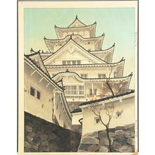 Mori Masamoto: Himeji Castle- large - Japanese Art Open Database