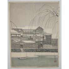 Mori Masamoto: Snow in Unknown - Japanese Art Open Database