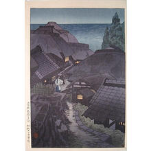Taki Katei: Evening at Boshu Futoumi in Awa Province- Boshu Futoumi no Yube - Japanese Art Open Database