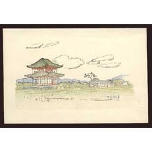 Nakazawa Hiromitsu: A pagoda in the country - Japanese Art Open Database