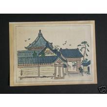 Nakazawa Hiromitsu: Temple Shrine 1 - Japanese Art Open Database