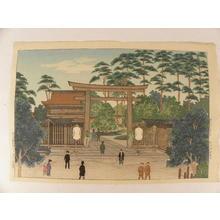 Narazaki Eisho: Meiji Shrine - Japanese Art Open Database