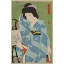 Narita Morikane: Paper Lantern - Japanese Art Open Database