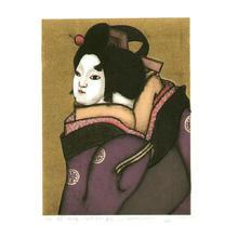 Nishizawa Shizuo: Oshun - Bunraku - Japanese Art Open Database