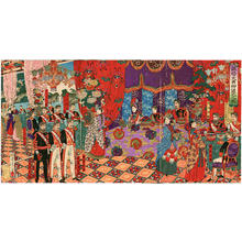 渡辺延一: Silver Anniversary of Emperor and Empress Meiji - Japanese Art Open Database