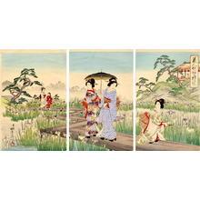 Watanabe Nobukazu: The Iris Garden - Japanese Art Open Database