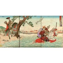 渡辺延一: Warrior print of samurai - Japanese Art Open Database