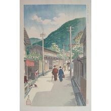 Nomura Yoshimitsu: Sloping Path to Kiyomizu — 清水産寧坂通 - Japanese Art Open Database