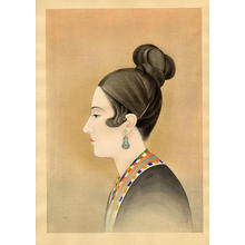 Obata Chiura: Before Singing - Madame Talia Savanieva - Japanese Art Open Database