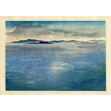 Obata Chiura: Before the Rain, Mono Lake - Japanese Art Open Database