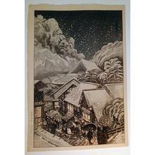 Oda Kazuma: Yakubu Hot Spring, Iwami Prefecture - Japanese Art Open Database