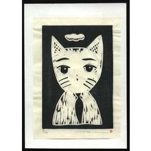 Henmi Takashi: Untitled- Cat - Japanese Art Open Database