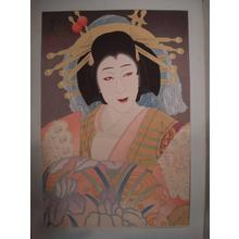 Ohta Masamitsu: Nakamura Utaemon as the courtesan Yatsuhashi - Japanese Art Open Database