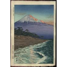 Okada Koichi: Mt. Fuji from the Coast of Hagoromo - Japanese Art Open Database