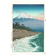 Okada Koichi: Mt. Fuji from the Coast of Hagoromo - Japanese Art Open Database