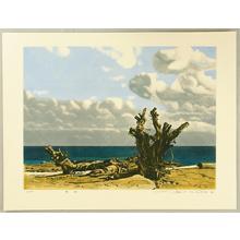 Okamoto Shogo: Southern Sea - Japanese Art Open Database
