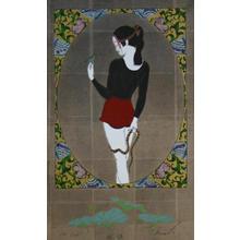 Okamoto Yoshimi: White Fox Mirror - Japanese Art Open Database