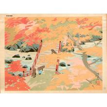 Okumura Koichi: Takao - Autumn - Japanese Art Open Database