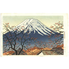 Okumura Koichi: Lake Kawaguchi - Japanese Art Open Database