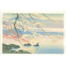 Okumura Koichi: Lake Towada in Autumn — Towada Ko Shushoku - Japanese Art Open Database