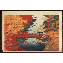 Okumura Koichi: View of Autumn at Takao - Japanese Art Open Database