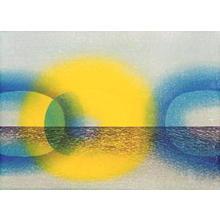 Onishi Yasuko: Moon Night — 月の夜-2 - Japanese Art Open Database