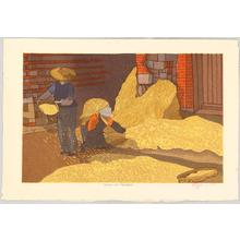 Rome Joshua: Harvest in Yunan - Yunan no Shukaku - Japanese Art Open Database